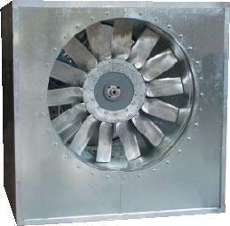 Осевые вентиляторы AX-B среднего давления