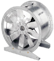 Осевые вентиляторы AXC среднего давления