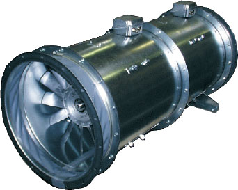 Осевые вентиляторы AXG среднего давления