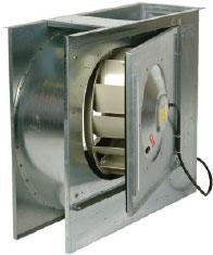 Центробежный вентилятор CKS 355-400 (однофазный) одностороннего всасывания