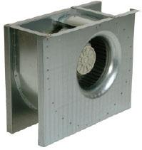 Центробежный вентилятор CT 315-400 одностороннего всасывания
