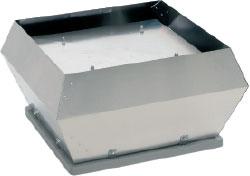 Взрывозащищенный крышный вентилятор DVEX 560-630