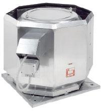 Крышный вентилятор дымоудаления DVV 560