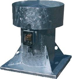 Крышные осевые вентиляторы HA...(B)-D