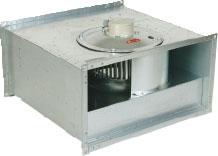 Вентилятор KT 80-50 для прямоугольных каналов