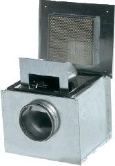 Вентилятор KVK 125-160 для круглых каналов