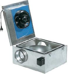 Вентилятор KVKE 125-160 для круглых каналов