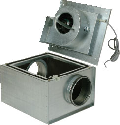 Вентилятор KVKF 250 для круглых каналов