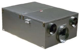 Приточно-вытяжной агрегат MAXI 1100 с рекуперацией тепла