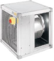Вентилятор MUB 630D4-K2 для прямоугольных каналов