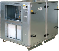 Приточно-вытяжной агрегат ROTOVEX 4800 с рекуперацией тепла