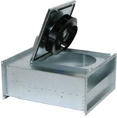 Вентилятор RS 70-40 L для прямоугольных каналов