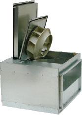 Вентилятор RSI 70-40 L для прямоугольных каналов