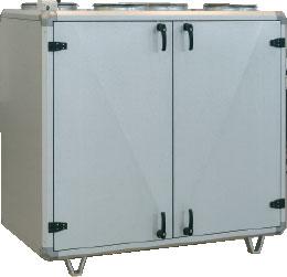 Приточно-вытяжной агрегат Topvex 1500R с рекуперацией тепла