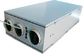 Приточно-вытяжной агрегат VR 250 EH/B с рекуперацией тепла