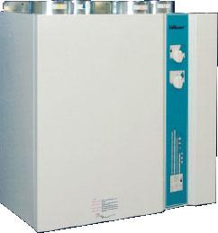 Приточно-вытяжной агрегат VX 250 TV/P с рекуперацией тепла