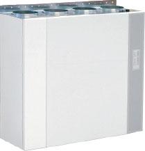 Приточно-вытяжной агрегат VX 400 EV с рекуперацией тепла