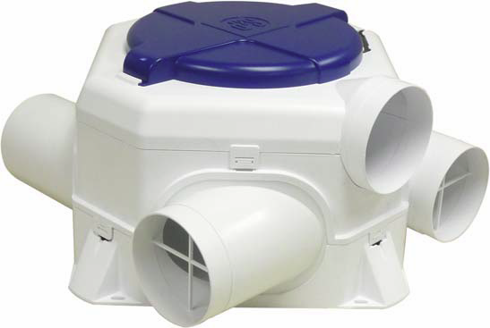 Мультизональные вентиляторы серии OZEO-E
