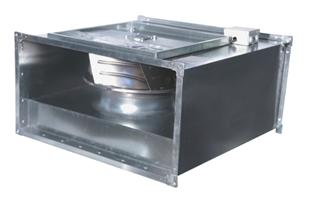 Вентиляторы  канальные с назад загнутыми лопатками низкого давления