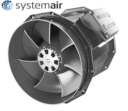 Вентилятор для круглых каналов Systemair prio 160