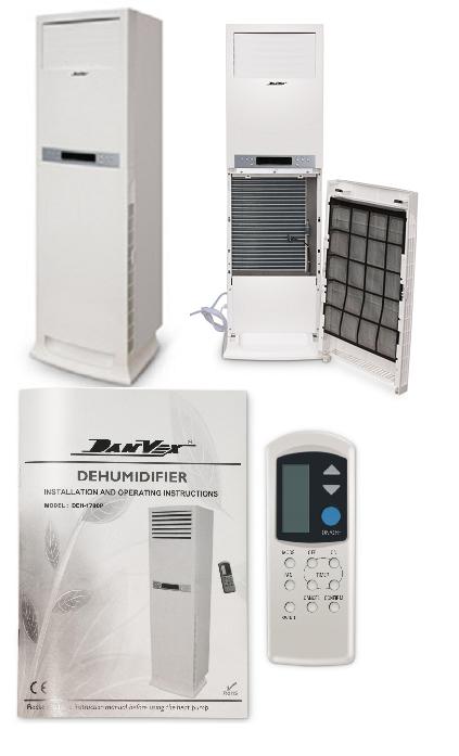 Новая модель осушителя воздуха для бассейнов DanVex DEH-1700p