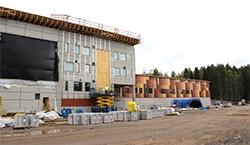 одно из крупнейших строений в Лапландии