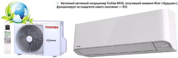 Настенный кондиционер Toshiba BKVG
