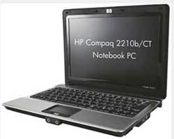 Портативный компьютер HP Compaq 2210b/CT